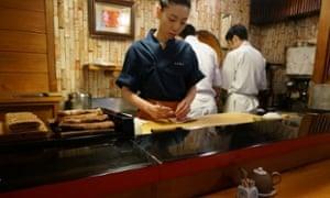 Otomezushi restaurant.