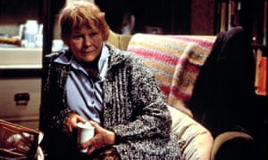 Judi Dench in Iris, in which she plays the novelist Iris Murdoch, who struggled with dementia