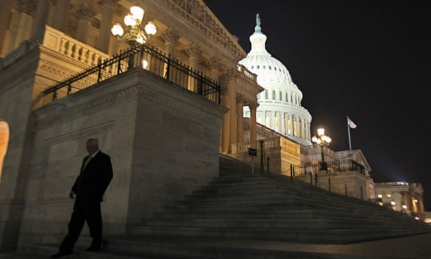 Congress is still in the dark about cybersecurity, though they claim otherwise. Photograph: JIM BOURG/REUTERS