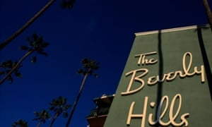 Sunset Boulevard's Beverly Hills hotel