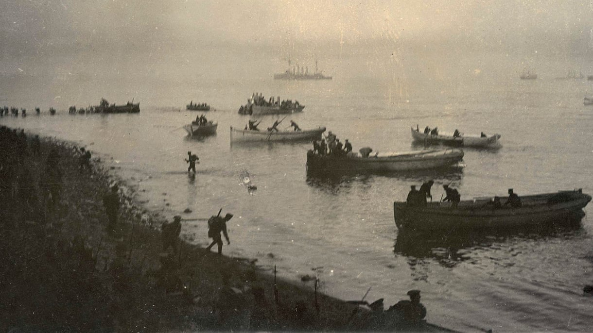 Anzac Cove and Gallipoli:  then and now – interactive