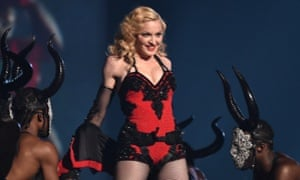 Madonna performs at the Grammy awards in March.