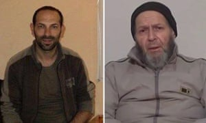 Giovanni Lo Porto (L) andWarren Weinstein, the Italian and American hostages killed in the US attack on al-Qaida in the border region of Afghanistan and Pakistan.