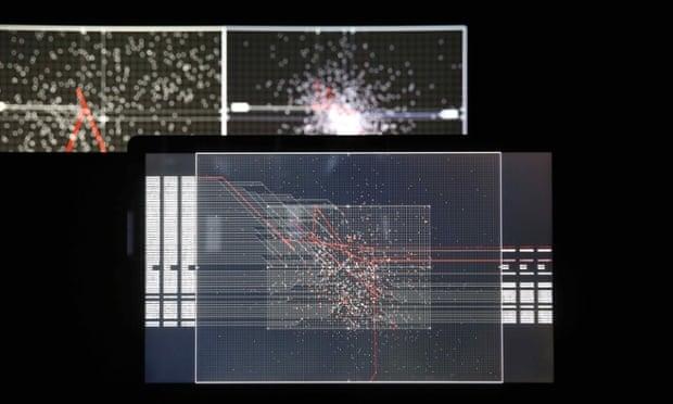 Supersymmetry by Ryoji Ikeda, 2015