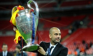 Pep Guardiola managed Barcelona to Champions league success on two occasions and he will return to his former club for the first leg of Bayern Munich's semi-final tie.