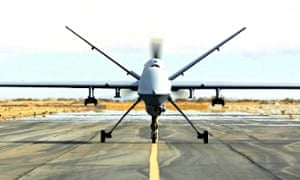 Armed drone aircraft