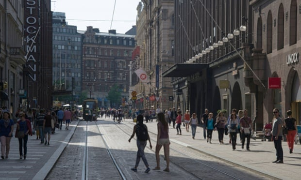 Aleksanterinkatu, Helsinki.