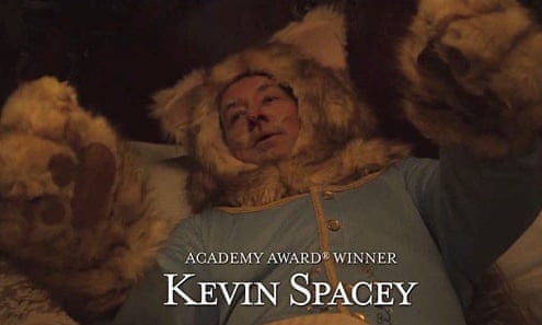 Kevin Spacey playing Keyboard Cat in a Jimmy Kimmel sketch