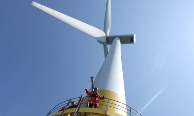 great yarmouth wind turbine
