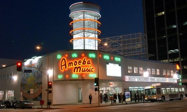 Amoeba Music's LA store.