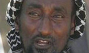An image of Mohamed Mohamud aka Dulyadeyn taken from a Kenyan police 'most wanted' poster