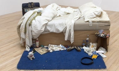 Tracey Emin's My Bed at Tate Britain.