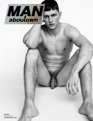 The limited edition cover of Man About Town shot by Alasdair Mclellan
