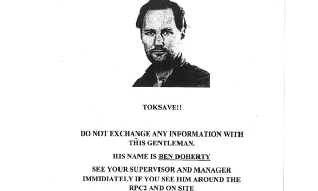Ben Doherty poster