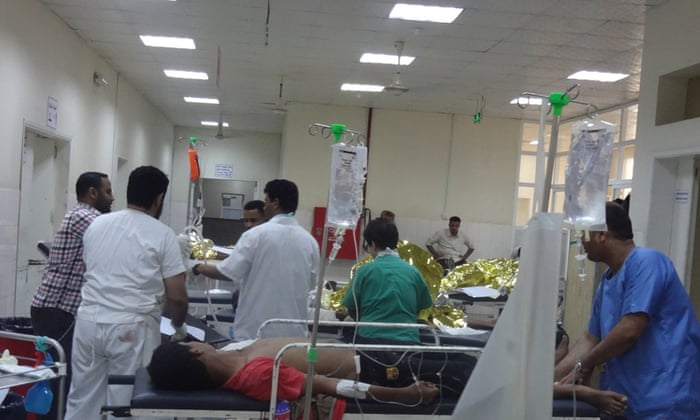 MSF surgical project in Aden, Yemen