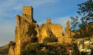 La Iruela castle. Sierra de Cazorla, Segura y Las Villas Natural Park. Jaen province. Andalusia, Spain.
