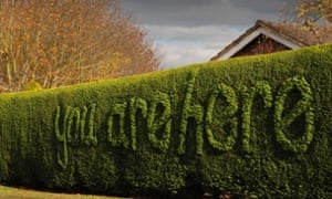 topiary you are here