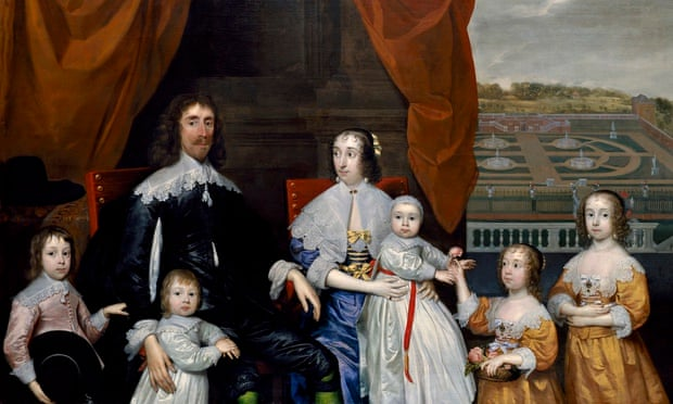 Capel family by Cornelius Johnson