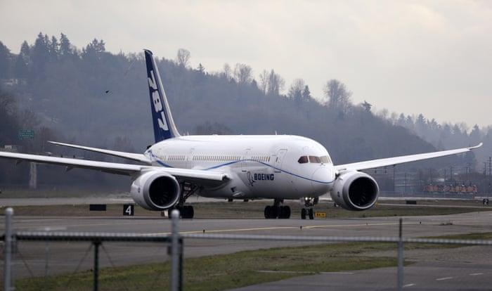 Boeing 787 glitch