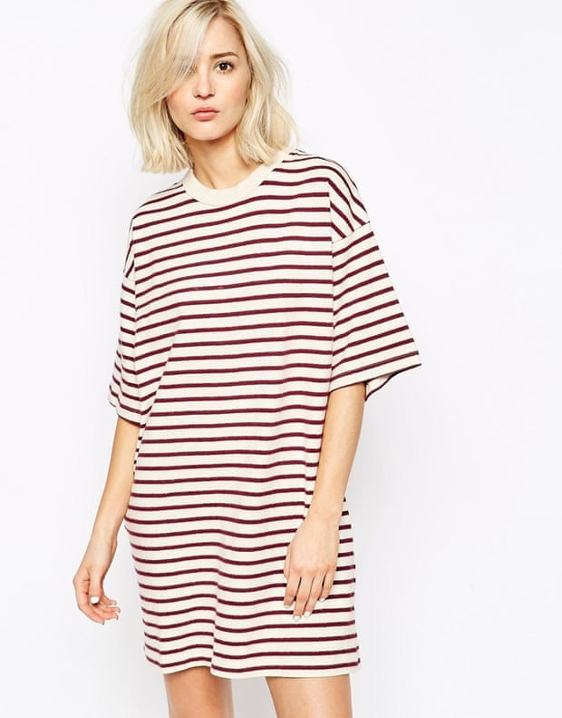 """Asos Wood Wood Striped Dress, &#163;95, <a href=""""http://www.asos.com/wood-wood/wood-wood-striped-dress-in-brushed-cotton/prod/pgeproduct.aspx?iid=4720024&amp;amp;clr=Royalestripe&amp;amp;SearchQuery=stripes&amp;amp;pgesize=36&amp;amp;pge=3&amp;amp;totalstyles=1338&amp;amp;gridsize=3&amp;amp;gridrow=9&amp;amp;gridcolumn=2"""">Asos</a>"""