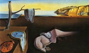 The Persistence of Memory by Savador Dali