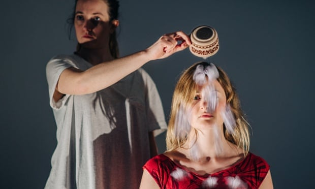 A still from The Deaf and Hearing Ensemble's People of the Eye