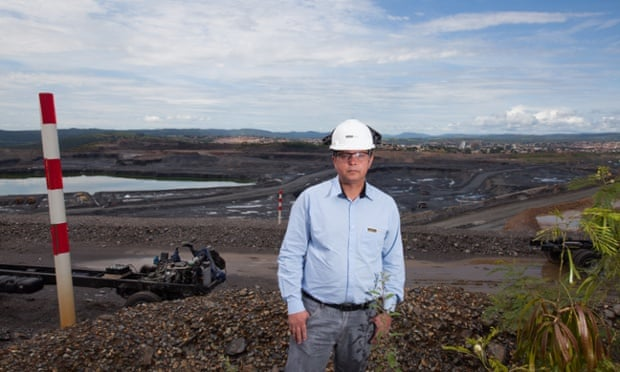 Gilberto Azevedo, general manager of the Kinross mine, argues there is no health risk for the 90,000 local residents