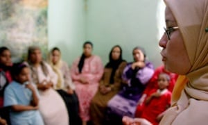 A FGM counsellor in Egypt.