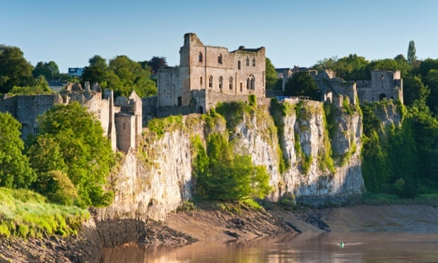 Cliffhangers … stories and myths will be told at Chepstow Castle on 29 May.