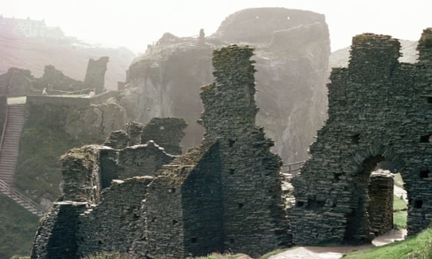 Stuff of legend … Tintagel Castle.