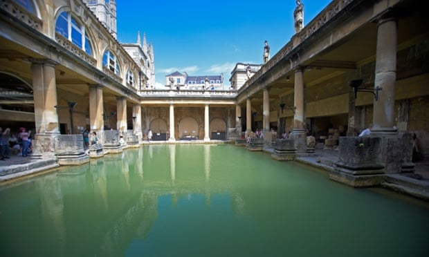 Bathtime for bacterior … even the Romans kept away from the water