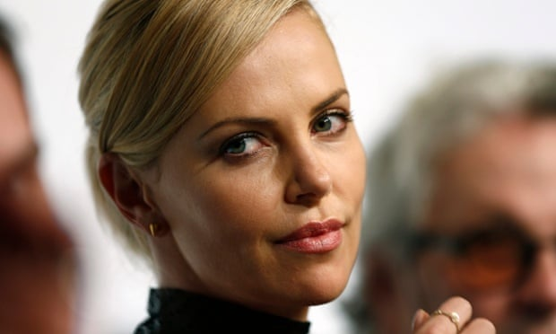 Charlize Theron at the Mad Max: Fury Road press conference.