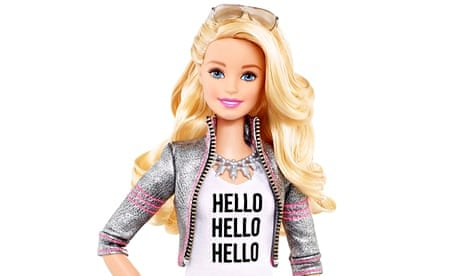 The Hello Barbie doll has attracted controversy for the way it records children's questions, which are then marketed to third parties.