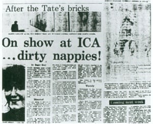Shock of the soiled ... Mary Kelly's Post-partum Document scandalised the tabloids in the 70s