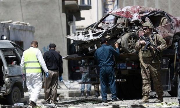 Huge Blast In Kabul, Four People Killed