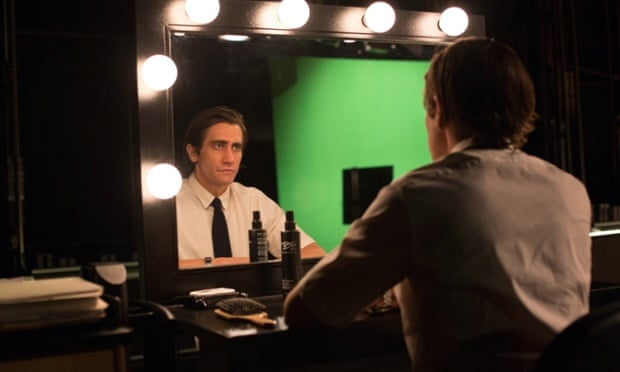 Career on the up … Jake Gyllenhaal's products improve in Nightcrawler.