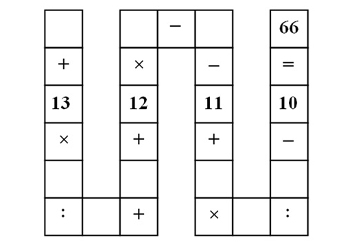 Vietnamese Snake Puzzle
