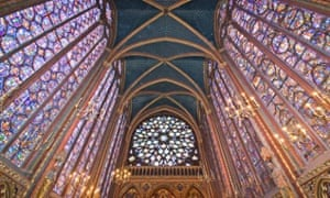Sainte-Chapelle in Paris.