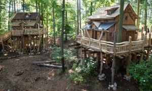 Treehouses  at Tripsdrill, Germany