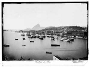 Marc Ferrez / Robert Polidori: Riot. Castelo Hill and the Sugarloaf Mountain, ca. 1875  Rio by Marc Ferrez and Robert Polidori published by Steidl.