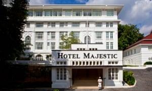 Recently refurbished – the Majestic Hotel Kuala Lumpur.