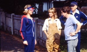 Felicity Kendal (centre) as Barbara in The Good Life.