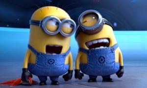 The Minions in Despicable Me 2.
