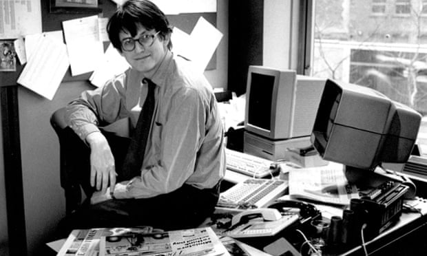 Alan Rusbridger in 1995. Photograph: The Guardian