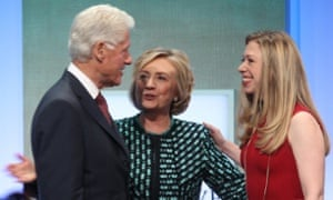 Bill Hillary and Chelsea Clinton
