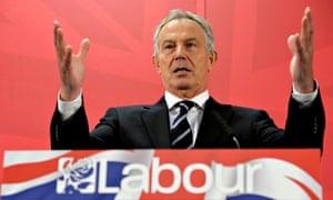 Tony Blair Ed Miliband's resilience.