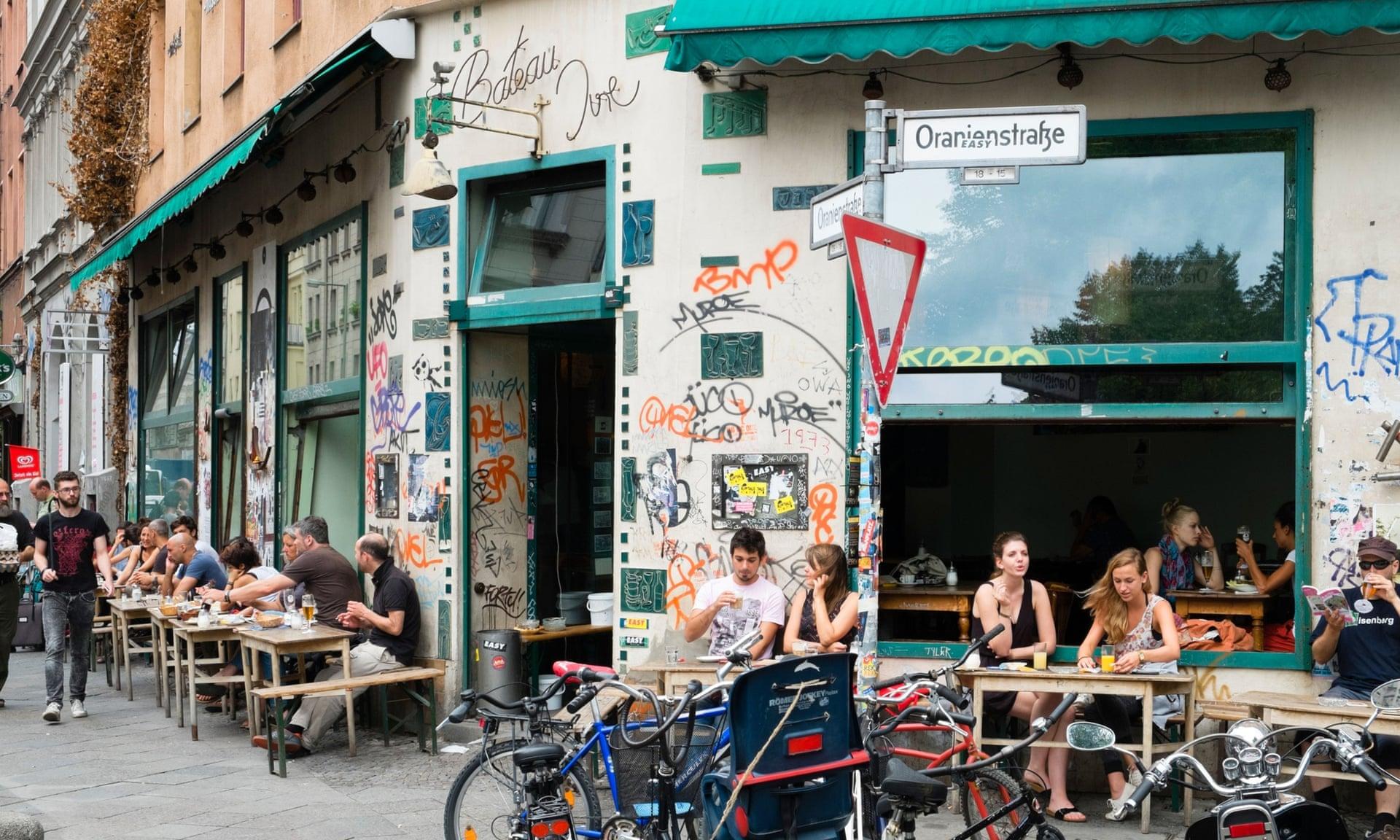 Berlin street scene