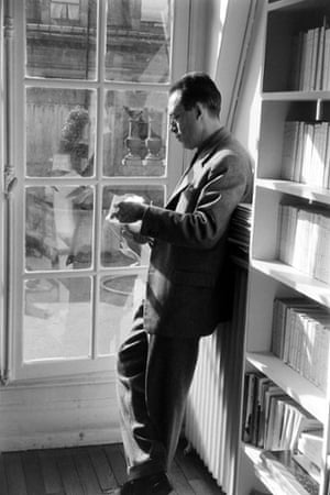 Albert Camus in Paris in 1957.