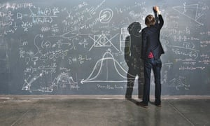 taylor wilson, teen sceince genius, writing sums on a blackboard