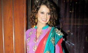She mixes classic and new without trying too hard ... Kangana Ranaut. Photograph: Yogen Shah/India Today Group/Getty Images